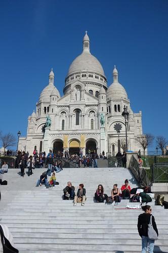 at the Basilique du Sacré-Cœur