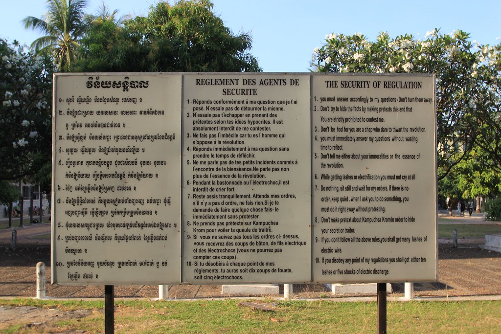 Tuol Sleng Genocide Museum - Phnom Penh, Cambodia