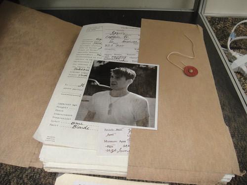 Captain America Prop Auction - Steve Rogers file