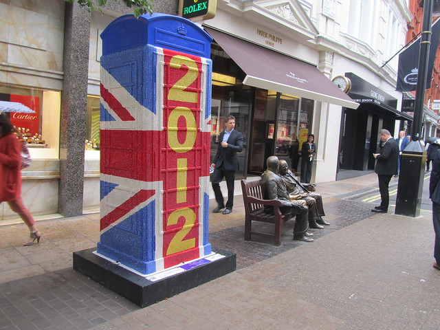 "43 - ""Union Jack 2012"" by Peter Blake for Swarovski (New Bond Street)"