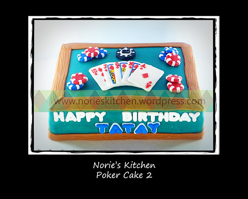 Norie's Kitchen - Poker Cake 2 by Norie's Kitchen