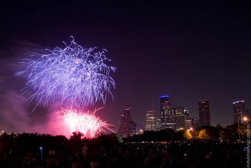 Houston Fireworks