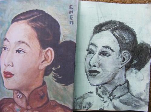 Georgette Chan Portrait WIP