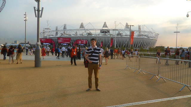 Me at the Olympic Park