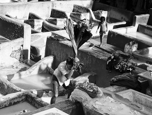 Dhobi Ghat by Indro Images