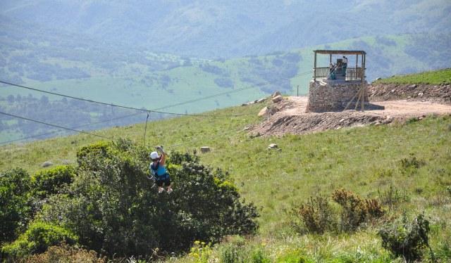 Oribi Gorge vaijerirata Etelä-Afrikka