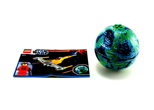 9674 Naboo Starfighter & Naboo - Instructions & Planet