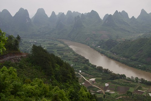 Karst mountains and Li River