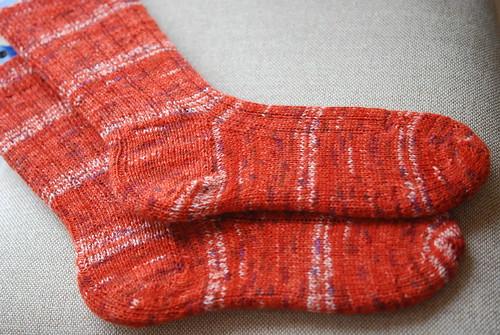 Lichen Ribbed Sock - Arithmancy OWL