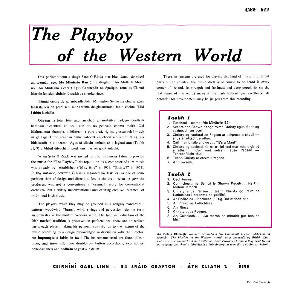 "essays on playboy of the western world But in j m synge's timeless comedy ""the playboy of the western world,"" a  whole village falls in love with one — a young man who staggers."