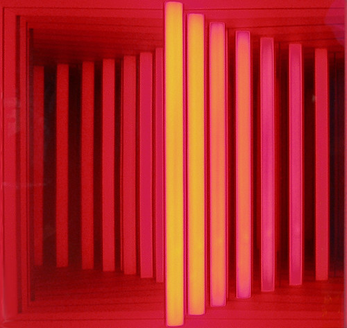 Red Mirrored Illusion by Phil Manker