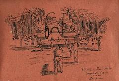Sketch around Yogyakarta by Arkanhendra
