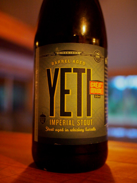 Great Divide Barrel Aged Yeti