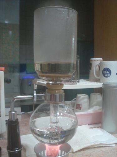 syphon倒入熱水3