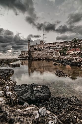 Morro Havana stoned by Rey Cuba