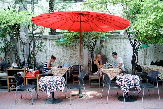 relaxing corner of bangkok