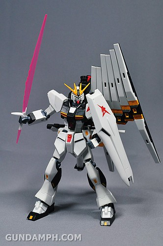 Robot Damashii Nu Gundam & Full Extension Set Review (29)