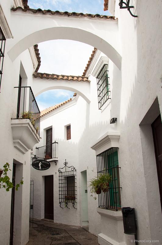 houses in Poble Espanyol