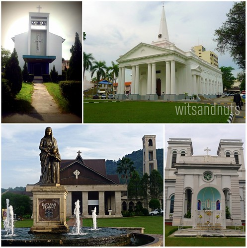 Catholic churches in Penang, Malaysia