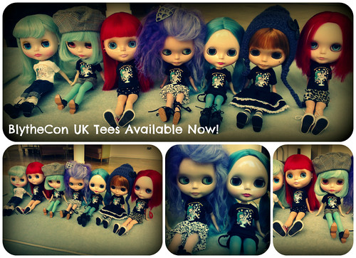 BlytheCon UK Dolly Tees Available Now!