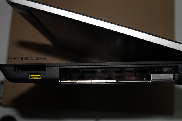 ThinkPad Edge E520 empty optical bay