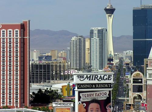 Las Vegas Strip Caesars Palace to Stratosphere
