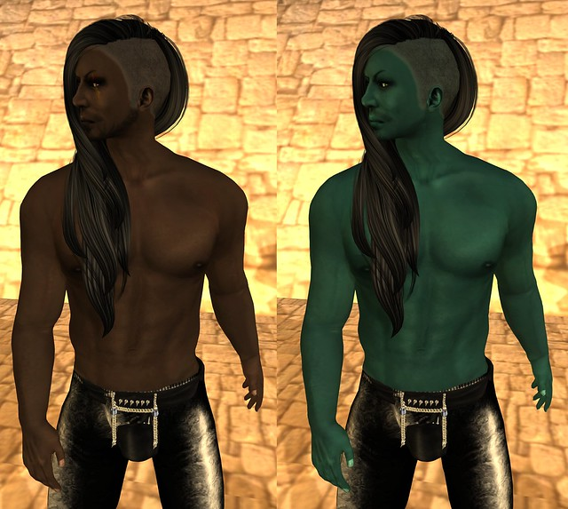 Covenant male skins