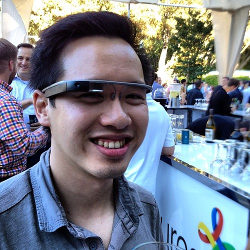 Google glasses at google ventures