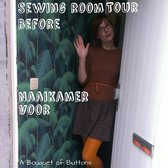 sewing room, tour, naaikamer, rondleiding