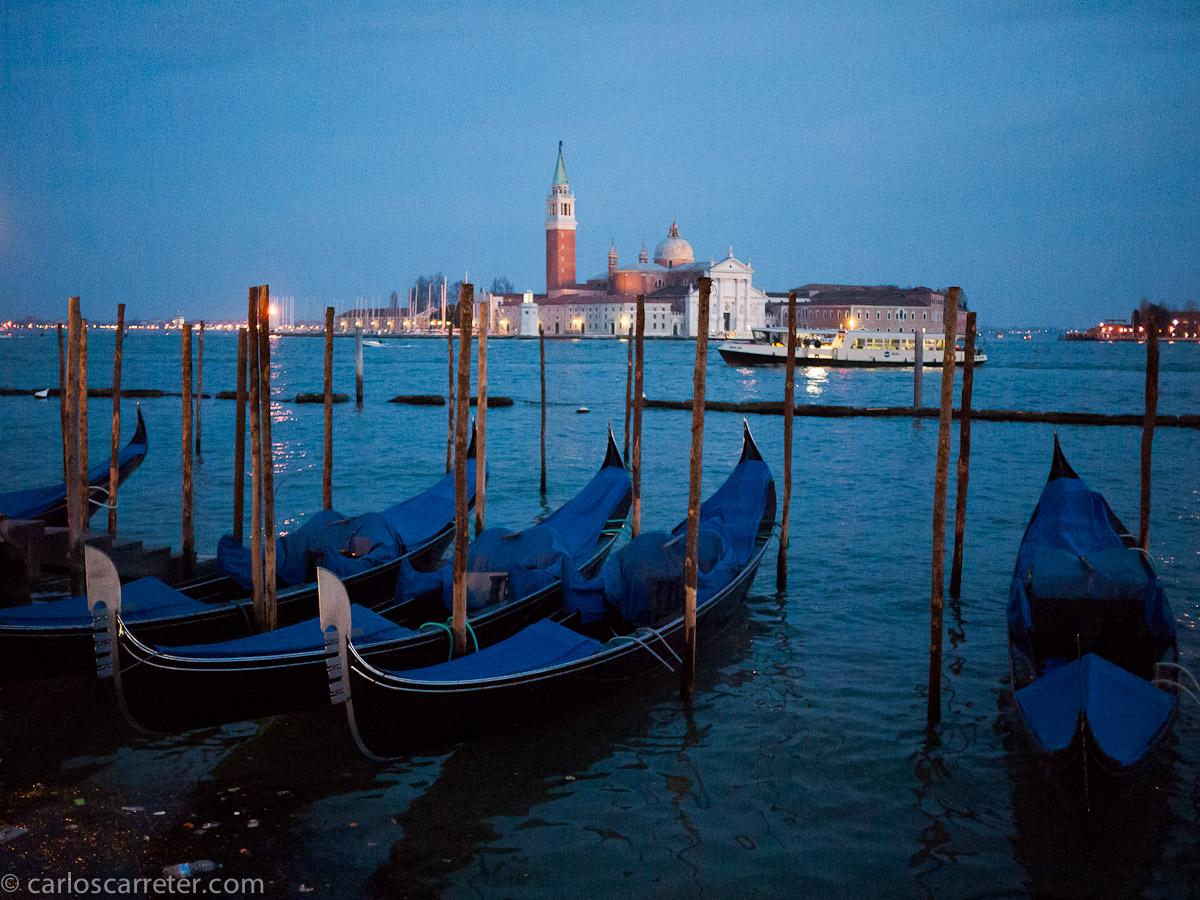 Góndolas en San Marco