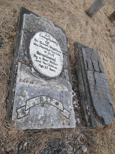 Grave Marker at St. Luke's Anglican Church