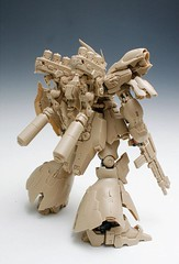 GMG 1-100 Sazabi Formania Version Resin Conversion Kit Complete Final Cast (7)