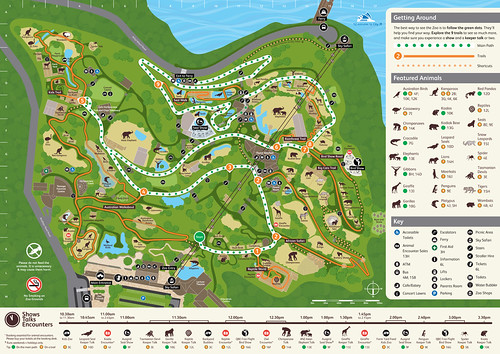 Taronga Zoo Map