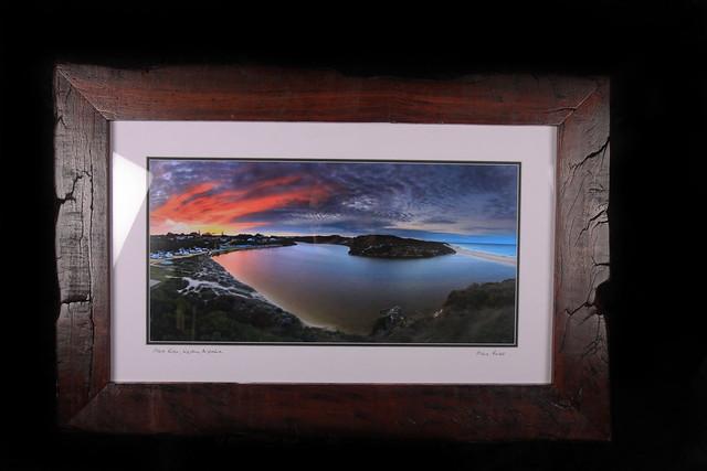 Moore River framed in Jarrah