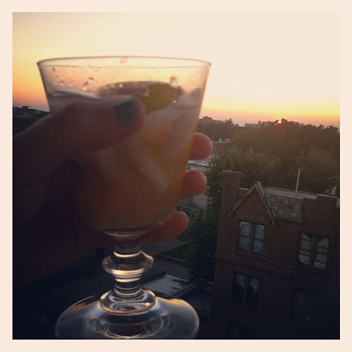 Toasting a Brooklyn day well lived!