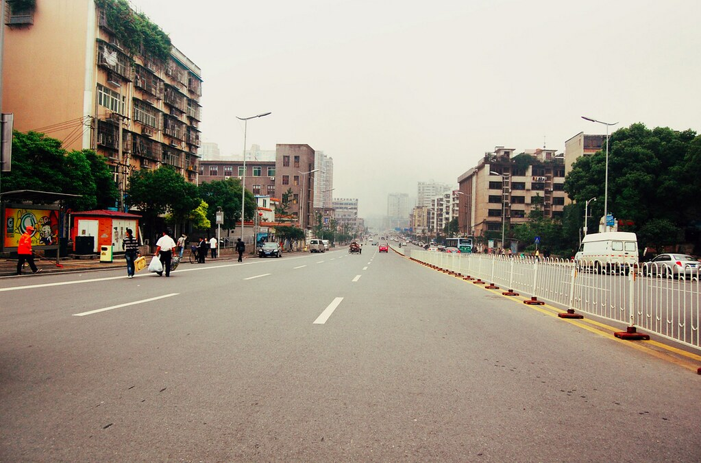 Changsha Streets, China