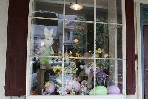 Easter decorations in Chesapeake City