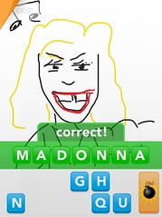 MADONNA, Draw Something App