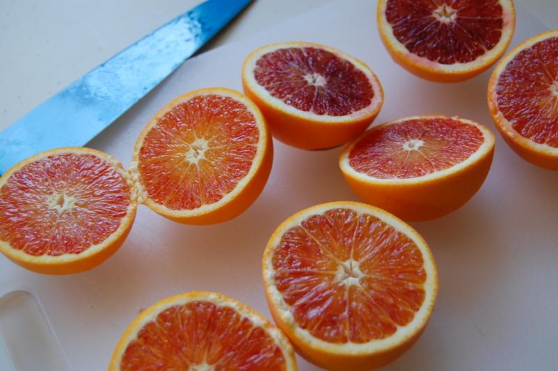 Blood Orange Flesh
