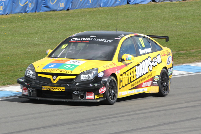 BTCC Racing at Donington Park in April 2012