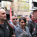 FBEU State President confronts Acting FRNSW Commissioner at NSW Fire Strike 210612