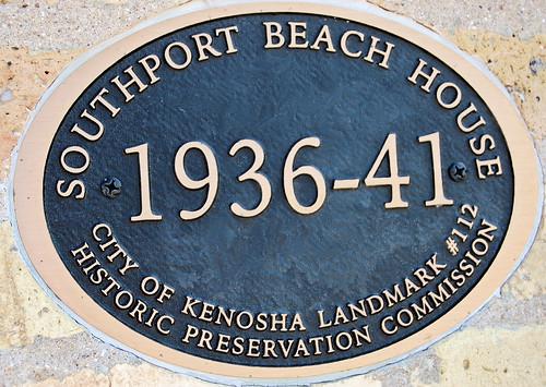 Historic Preservation Society plaque