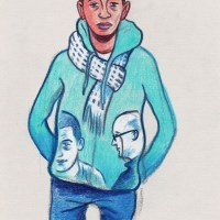 Des visages, des figures III : L'ado en bleu