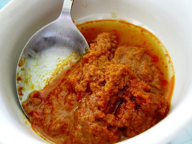 Mee siam sambal & line juice