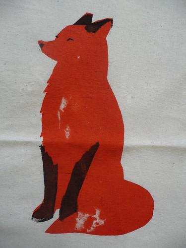 Fox Screen Print