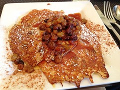 Carrot Cake Pancakes - Cafe Muse - Royal Oak, MI