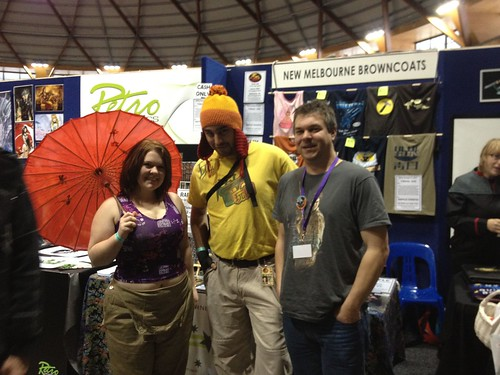 Browncoat Booth at Supanova Sydney in 2012