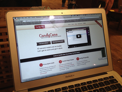 CandyCane Site with YinYang