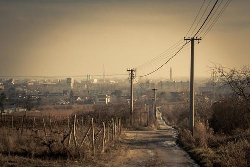 Telegraph Road (Bratislava, Slovakia) - Photo : Gilderic