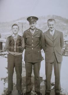 Dad, Uncle John, Uncle Al